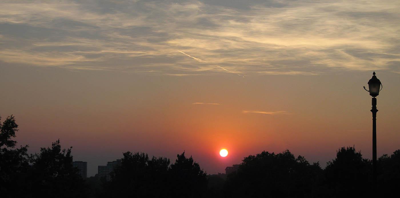 Puesta de sol en Primrose Hill