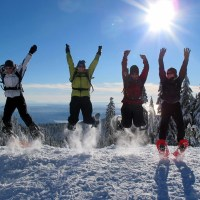 Greater Vancouver Snowshoe - Hollyburn Mountain