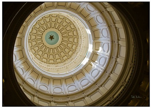 Looking Up- Texas Capitol Building Austin
