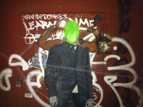 If John Baldessari was a street artist