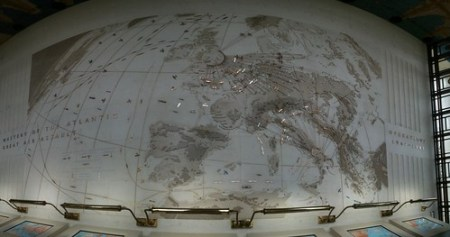 Panorama of the air war map