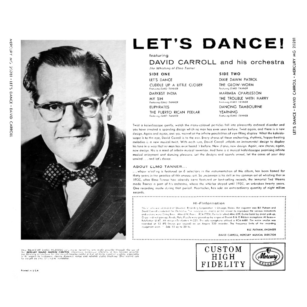 David Carroll - Let's Dance