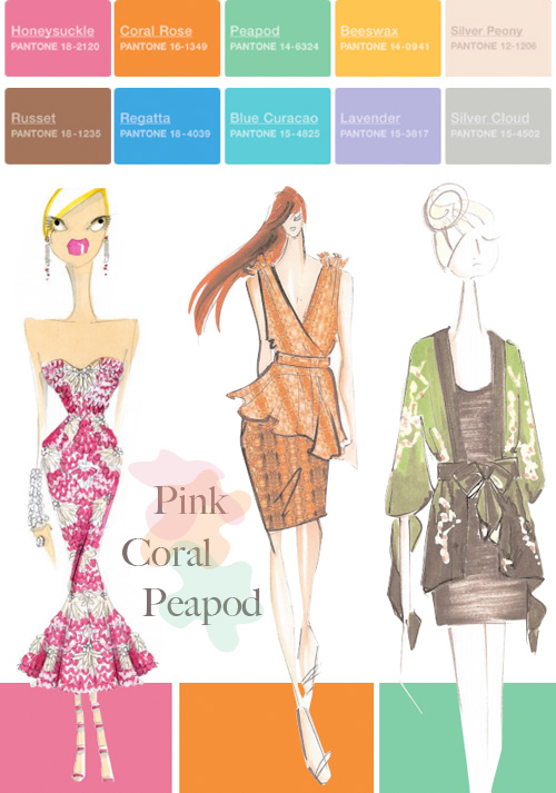 Pantone Color Forecast: Spring 2011