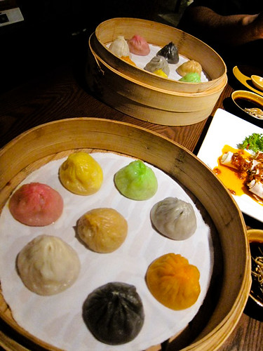 Multi colored Xiao long bao