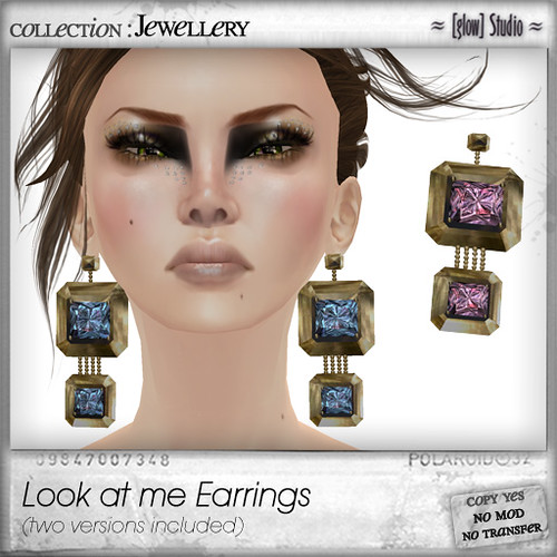 [ glow ] studio Look at me earrings