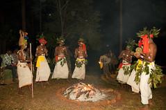 Soligas performing traditional Gorukana dance