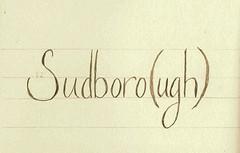 Sudboro-ugh I