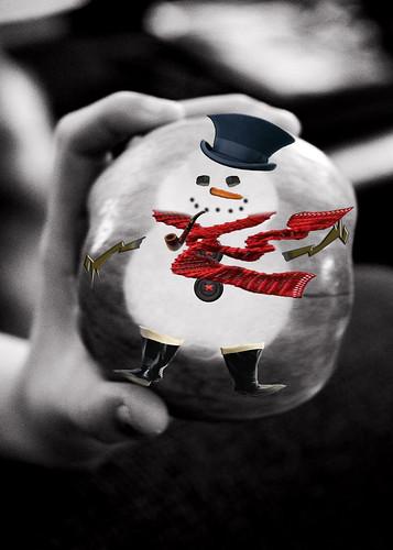 snowman apple