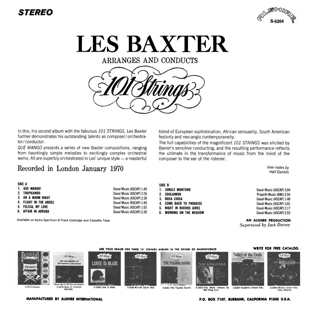Les Baxter - Que Mango!