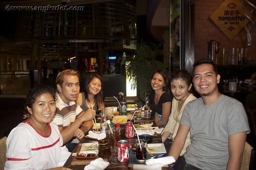 Dinner at Nanbantei of Tokyo, Greenbelt with [super] Friends
