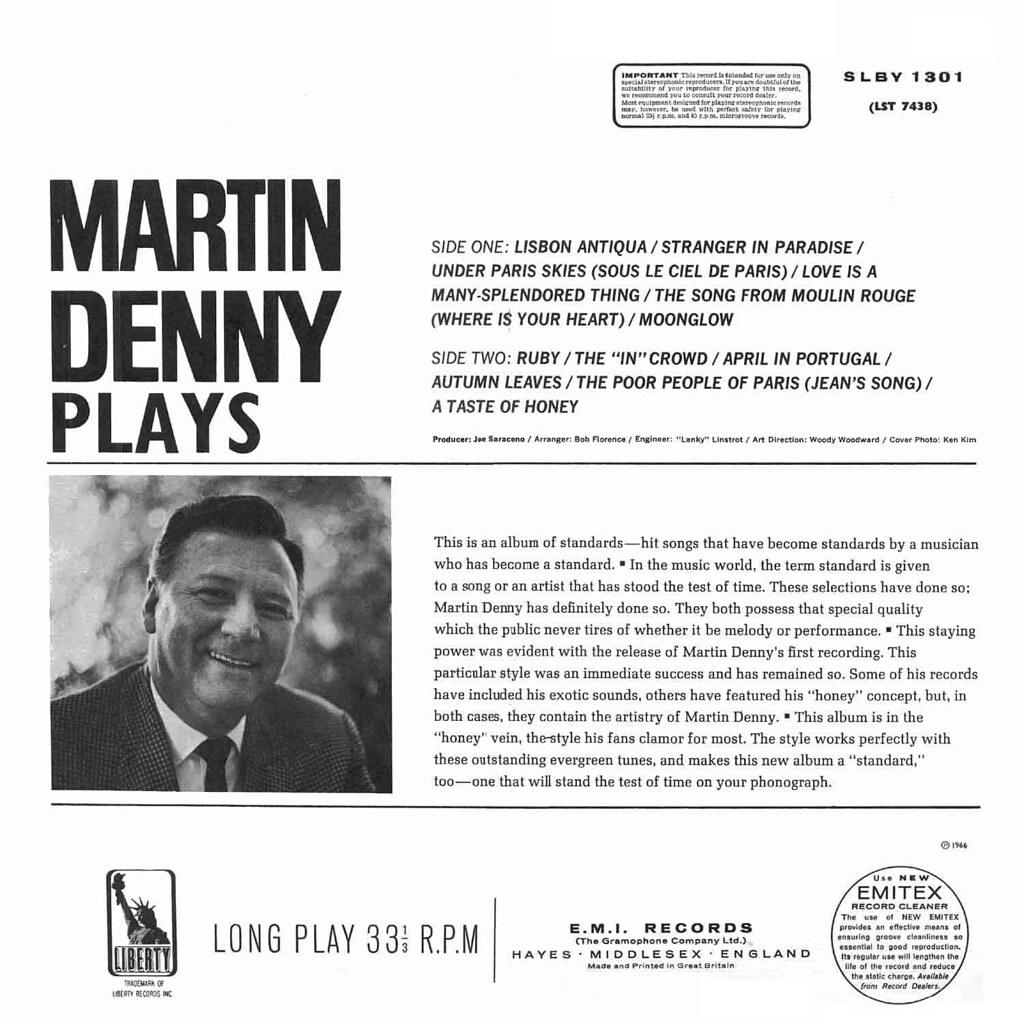 Martin Denny Plays