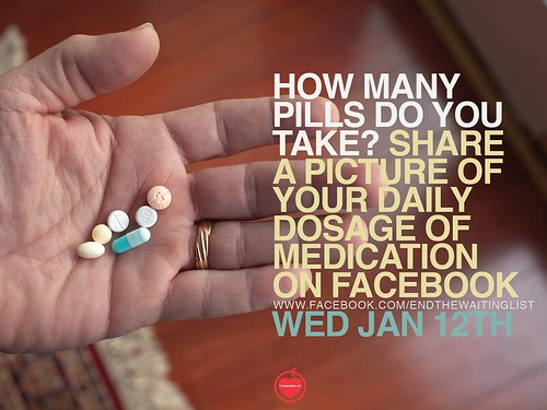 Waiting List - How Many Pills