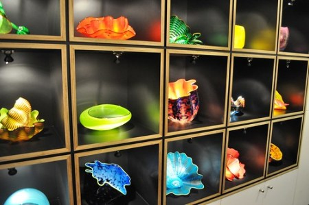 Chihuly Glass in the Gift Shop of the Chihuly Collection, St. Petersburg, Florida