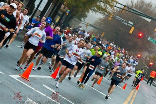 Atlanta Half Marathon - Thanksgiving Day 2010