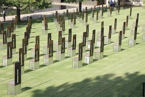 OKC Memorial - empty seats