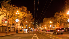 San Francisco by Night: Market Street
