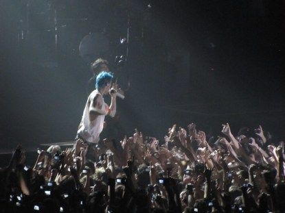 30 seconds to Mars, live at Futurshow Station Bologna
