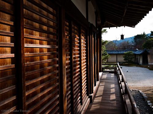 大覚寺 回廊