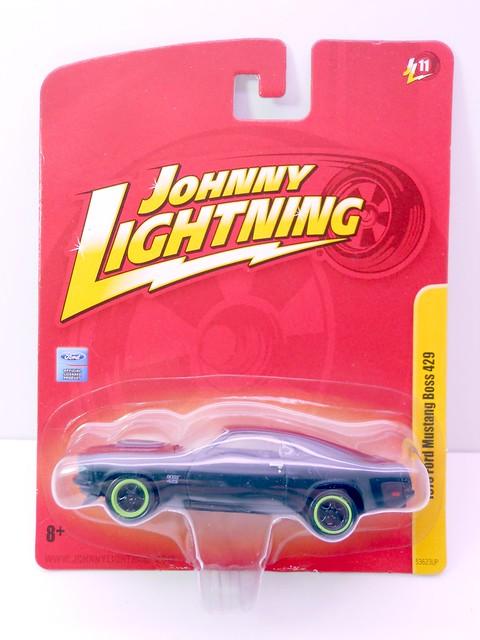johnny lightning ford mustang boss 429 flat black (1)
