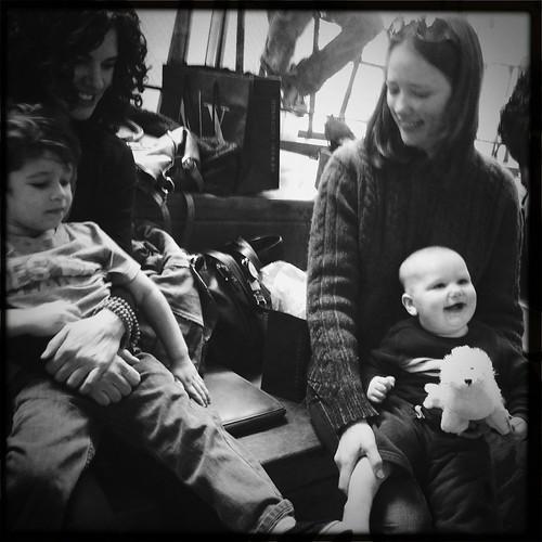 Moms + kids