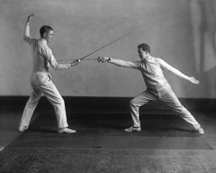 Fencers, McGill boxing, wrestling and fencing ...