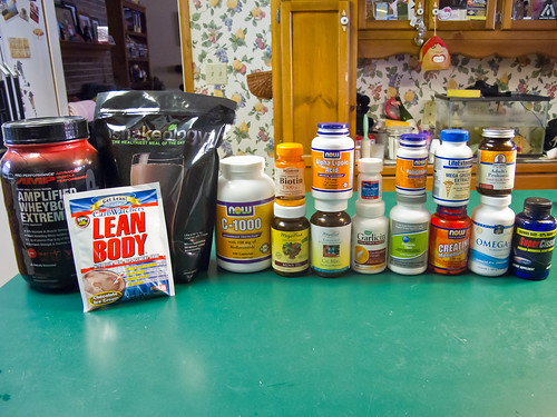 Supplements (or a visual representation of my ...