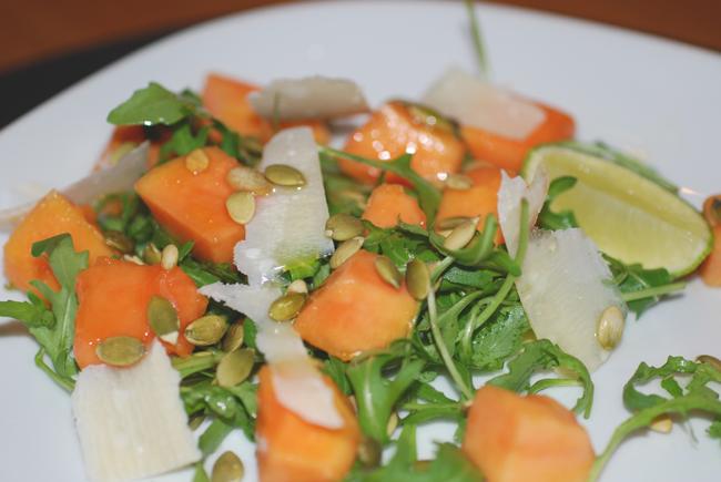 salad with papaya2