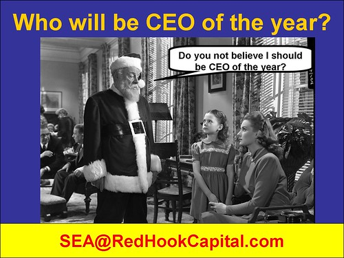 Santa should be CEO of the year?