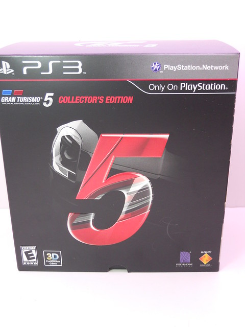 playstation 3 gran turismo 5 collectors box set just jdm. Black Bedroom Furniture Sets. Home Design Ideas