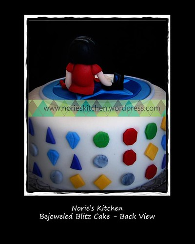Norie's Kitchen - Bejeweled Blitz Cake - Gems Detail