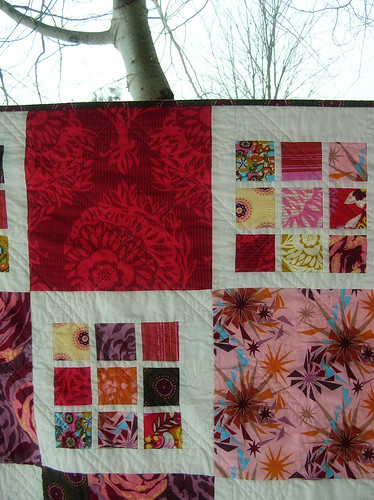 Innocent Crush Quilt close-up