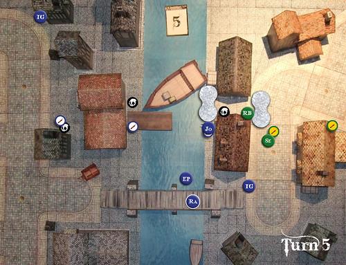 Malifaux Battle Report - Turn 5