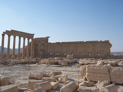 Temple of Baal at Palmyra, Syria. (III)