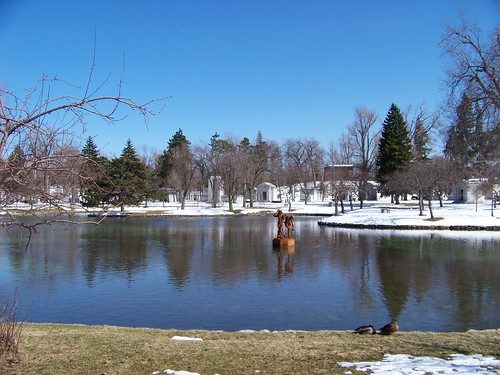 Forest Lawn pond