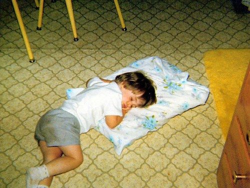 obsession with cooking started when I was real young, I would sleep in the kitchen
