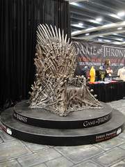 WonderCon 2011 - HBO's Game of Thrones booth