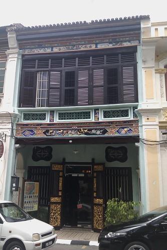 In Lebuh Armenian, Georgetown, Penang.