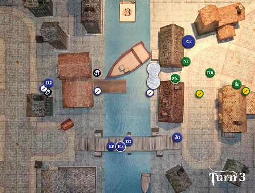 Malifaux Battle Report - Turn 3
