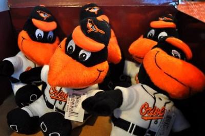 The Bird Plush Souvenir, Baltimore Orioles Spring Training, Sarasota, Fla., March 5, 2011