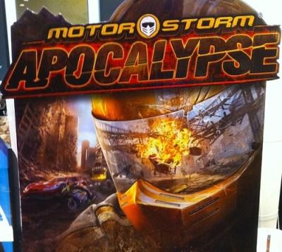 Lancement Motorstorm Apocalypse