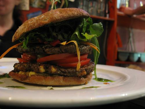 the mushroom burger