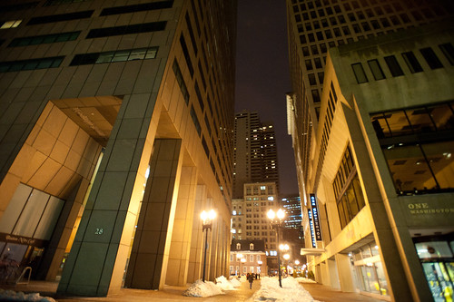 Night near Government Center