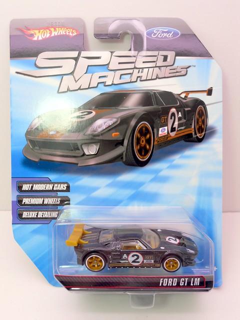 hot wheels speedmachine ford gt lm green (1)