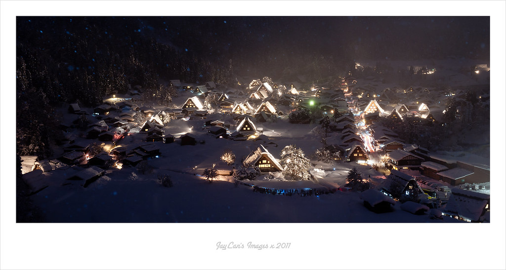 2011.01.29的白川鄉Light Up
