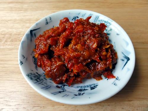 Sambal Tumis (Spicy Malaysian Sautéed Chilli Paste)