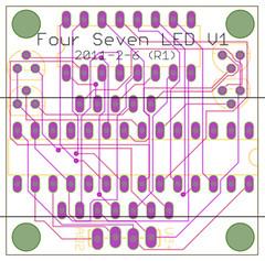 Four Seven LED V1-laen