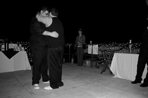 "First dance to ""Brand New Colony"" by Postal Service"