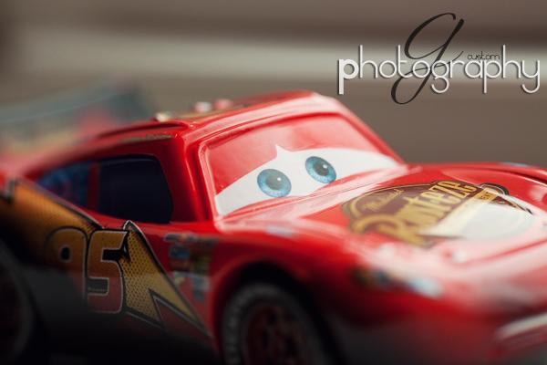 Lightning McQueen - a macro view