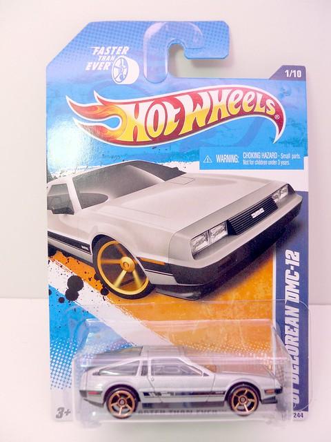 hot wheels '81 delorean dmc-12 silver (1)