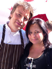 with Chef Jamie Oliver